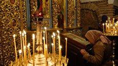 Празднование православной Пасхи на Украине