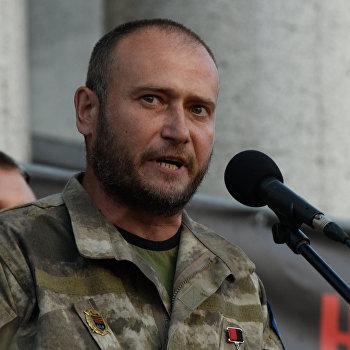 Народное вече организации Правый сектор в Киеве