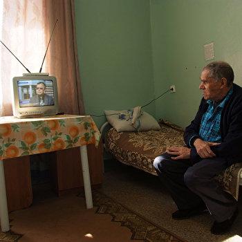 Дом-интернат для престарелых и инвалидов в поселке Пролетарий Новгородской области