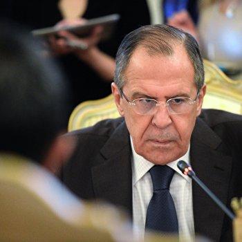Третья министерская сессия Российско-арабского форума с участием главы МИД РФ С.Лаврова