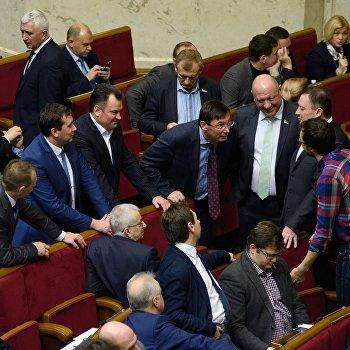 Верховная Рада разрешила ввести торговое эмбарго против России