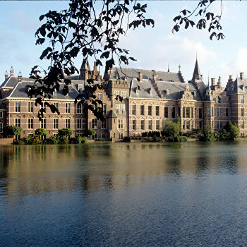 Старое здание Парламента в городе Гаага