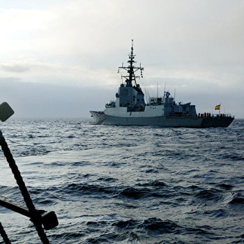 Боевые корабли НАТО совершили деловой заход в порт Балтийска