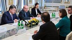 Встреча Петра Порошенко с Викторией Нуланд