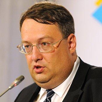 Брифинг советника главы МВД Украины Антона Геращенко