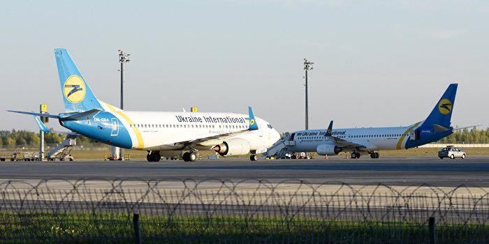 С 25 октября вводится запрет на полеты украинских авиакомпаний в Россию и российских на Украину