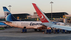 Найдены обломки лайнера EgyptAir