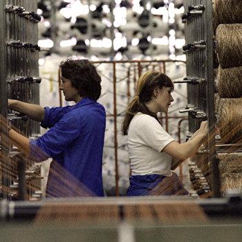 Цех текстильного предприятия