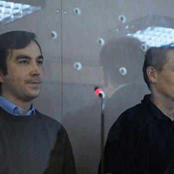 Заседание суда по делу Е. Ерофеева и А. Александрова в Киеве
