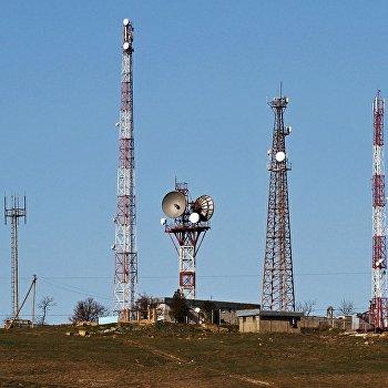 Вышки сотовой связи украинских сотовых операторов в Крыму