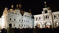 Празднование Пасхи в Киево-Печерской лавре