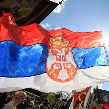 Сербский марш в поддержку территориальной целостности Сербии
