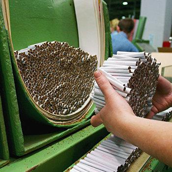 Изготовление сигарет
