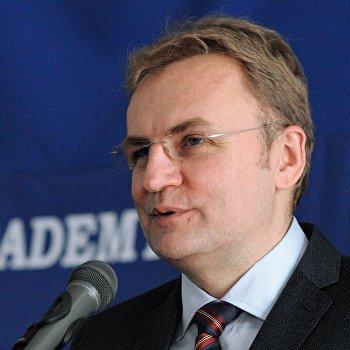 Встреча с мэром Львова, председателем партии Объединение Самопомощь Андреем Садовым
