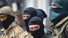 Вооруженные арматурой сотрудники частной охранной фирмы захватили санаторий в Одессе