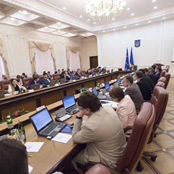 1 июля под председательством Владимира Гройсмана состоялось заседание Правительства