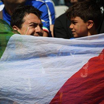 Футбол. Чемпионат Европы - 2016. Матч Италия - Испания