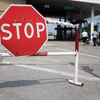 Ситуация на пограничном пункте пропуска Изварино