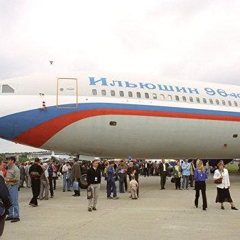 Пассажирский самолет ИЛ 96-400