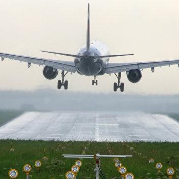 Самолет в Шереметьево