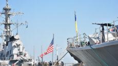 Завтра НАТО и Украина начнут совместные учения в Черном море