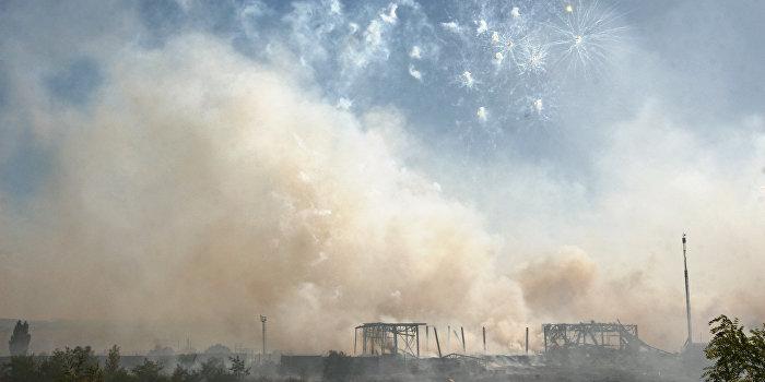 Елена Лукаш: Взрывы на военном складе - преступление раскрыто до начала расследования