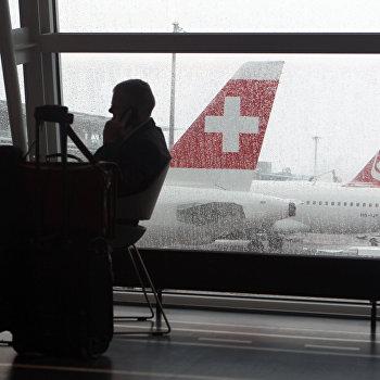 Работа европейских аэропортов