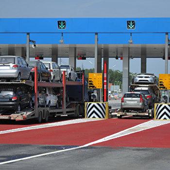 Открытие платного участка автомобильной дороги М-4 Дон