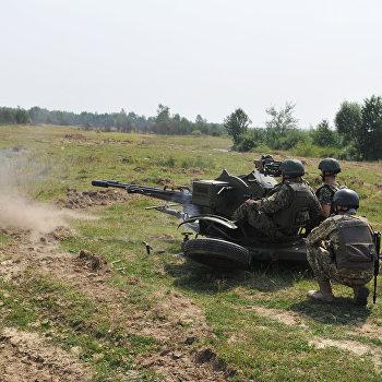Учения пограничных войск Украины