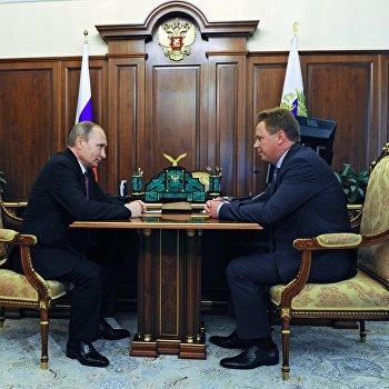 Президент РФ В. Путин провел ряд встреч 27 июля 2016 г.