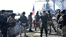 Украинско-американские военные учения Sea Breeze-2015 в Черном море