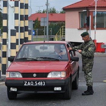 Контрольно-пропускной пункт Рава-Русская на польско-украинской границе