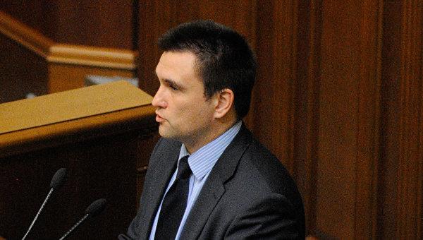 Руководитель МИД Украины допустил введение визового режима сРоссией