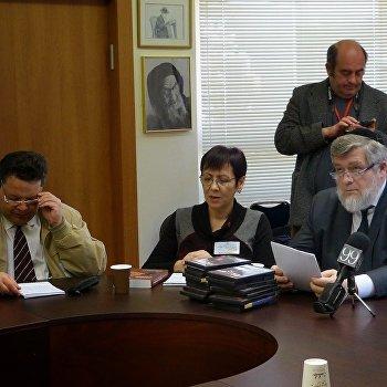 Авигдор Либерман и Мирослава Бердник