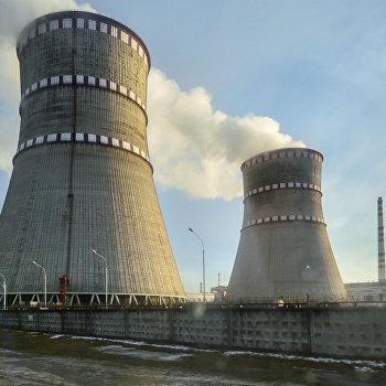 Президент Украины П. Порошенко посетил Ровенскую АЭС