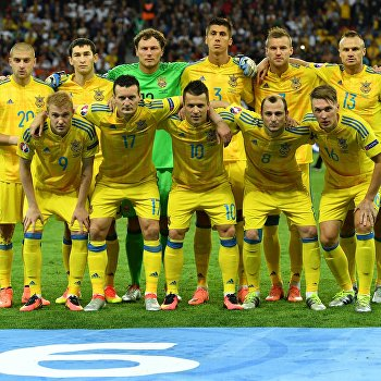 Футбол. Чемпионат Европы - 2016. Матч Германия - Украина