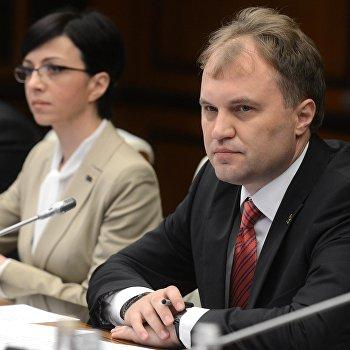 Дмитрий Рогозин и Евгений Шевчук подписали ряд двусторонних соглашений о сотрудничестве