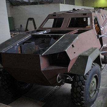 Выпуск бронемашин Дозор-Б на Львовском бронетанковом заводе