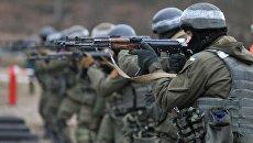 Подготовка пехоты Нацгвардии Украины по методике НАТО