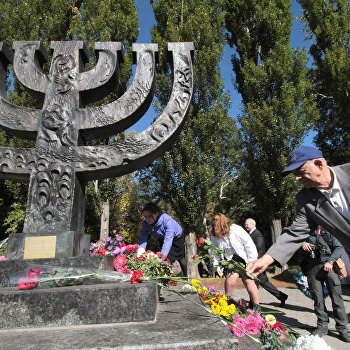 Митинг у мемориала Бабий Яр прошел в Киеве