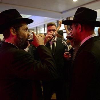 Открытие еврейского общинного культурного центра в Новосибирске