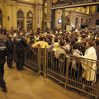 Беженцы из стран Ближнего Востока в Венгрии