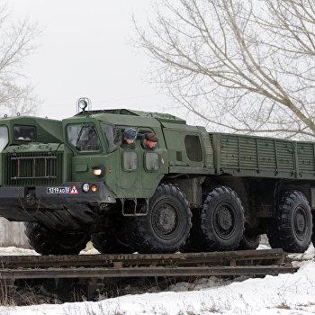 Подготовка военных водителей в Воронежской области