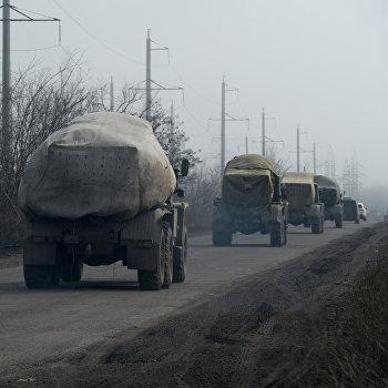 Ополчение ДНР начало отвод РСЗО Град от линии соприкосновения
