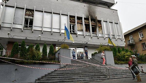 «Интер» обвинил внападении наканал партию «Народный фронт»