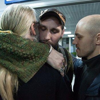 Гражданин России Константин Журавлев, захваченный боевиками в Сирии в 2013 году, вернулся на родину