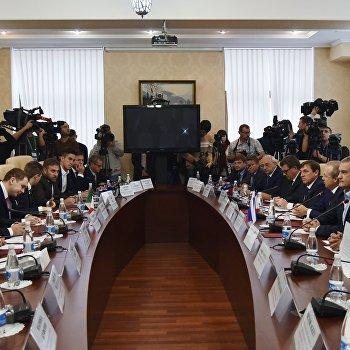 Визит итальянской делегации в Крым