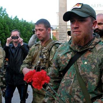 Акция памяти погибших в Одессе 2 мая 2014 года состоялась в Донецке