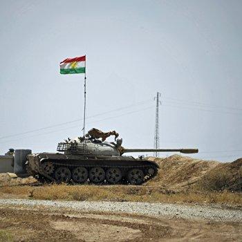 Освобожденный от ИГ поселок Башиир в иракской провинции Киркук