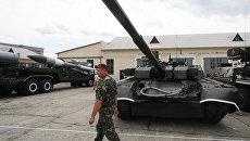 "Танк Т-84У ""Оплот"""